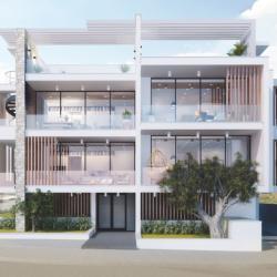 Architecture Design Practice Tamasou Flats Residental Project